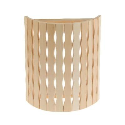Деревянный абажур для бани «Косичка»