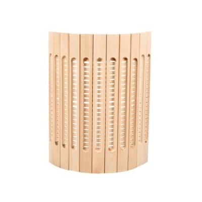 Деревянный абажур для бани «Рассвет»