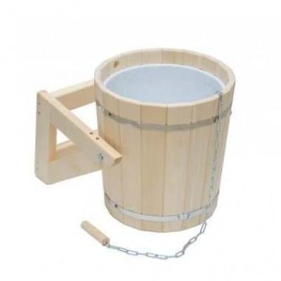 Обливное устройство для бани 20 л пластиковой вставкой