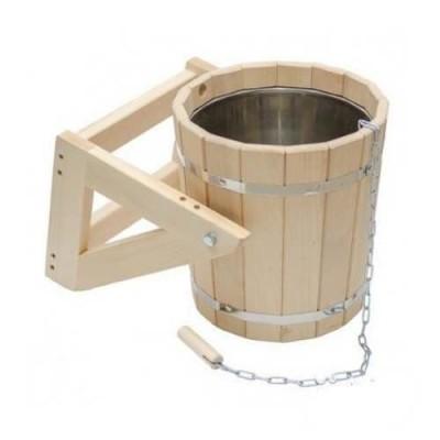 Обливное устройство для бани 20 л со вставкой из нержавейющей стали.
