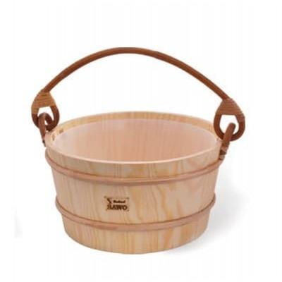 Деревянное ведро для бани или сауны SAWO 300-НР 9 литро