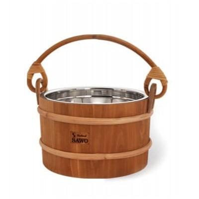 Деревянное ведро для бани или сауны SAWO 371-МР 5 литров