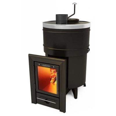 Дровяная печь для бани Термофор Скоропарка 2012 Inox