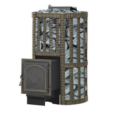 Печь для бани Ураган Ковка 28 (271) из чугуна