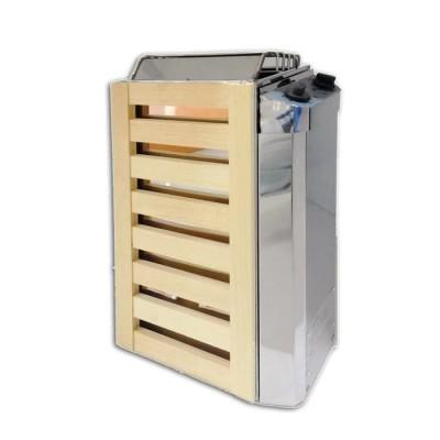 Электрическая печь для сауны PEKO EHGF-36 (хром+сосна)