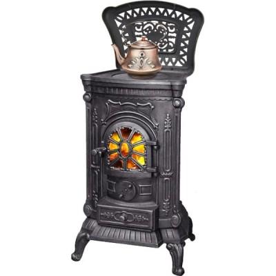 Печь-камин INGRID из чугуна для дома и дачи