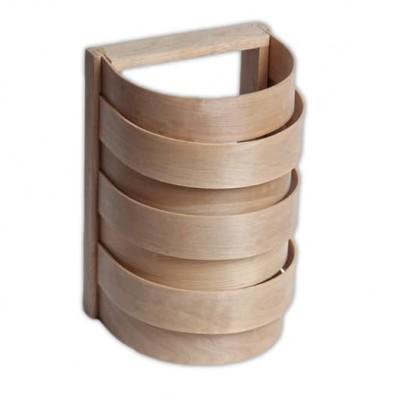 Деревянный  финский угловой для бани